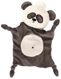 Manhattan Toy My Snuggly Blankie Patches the Panda Bear