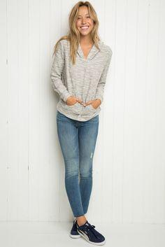 Brandy ♥ Melville   Robin Hoodie - Hoodies - Sweaters - Clothing