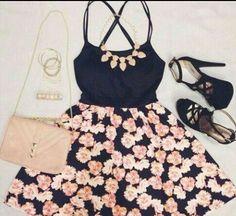 Imagem de fashion, outfit, and dress