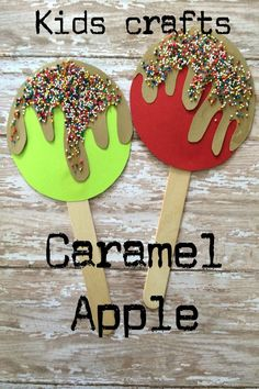 Need a fun fall craft to do with the kids? This popsicle crafts for kids is fun and so easy!
