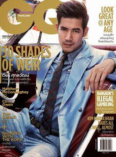 Weir Sukollawat Kanarot Covers GQ Thailand January 2015 Issue