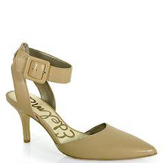 833aa883e184d Sam Edelman - Okala - Ankle Strap Mid Pump Pointed Toe Heels