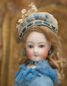 14in (36 cm) Antique French French Fashion Bisque Doll in Wonderful from respectfulbear on Ruby Lane