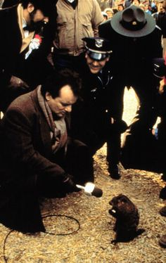Groundhog Day, the 1993 comedy masterpiece with Bill Murray and Andie MacDowell