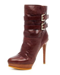 Mae Buckle Boot by MICHAEL Michael Kors at Neiman Marcus.
