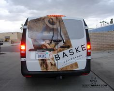 329f24e608 We recently finished this van wrap for  BaskeCalifornia