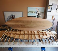 Surfboard structure – MaLo's hollow wood surfboard