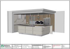 Kitchen Renovation Brisbane with Caesarstone Benchtops and White Macubus Quarzite