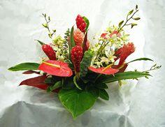 tropical arrangements centerpiece | Tropical Arrangements | A Special Touch Florists: serving Lahaina and ...
