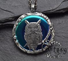 Owl~Titanium Hematite~Engraved Pendant – PeagerFantasyWorld My Fantasy World, Soldering Jewelry, Metal Working, Gemstones, Pendant, Metalworking, Pendants, Gems, Gem