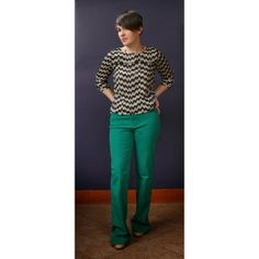 Stitch Fix - Love the color of these pants!