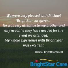 #BrightStarCare #clientreview