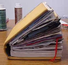Go Make Something » Preparing A Book To Be Altered--how to and how NOT to do it