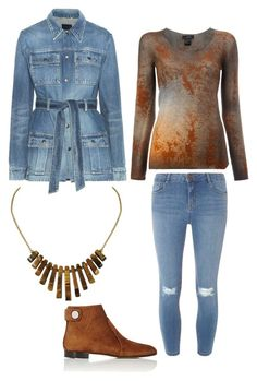 """""""Untitled #2445"""" by mountain-girl-lynn on Polyvore featuring Yves Saint Laurent, Avant Toi, Gianvito Rossi and Dorothy Perkins"""