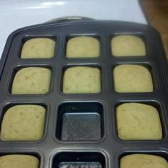 pampered chef, Recipe - Photo: Puffins    1 cup pancake mix  2/3 Cup water   1/2 Cup of Syrup -   mix all together and bake at 350 for about 12-14 minutes.  you can add fruit/nuts/chocolate chips too..