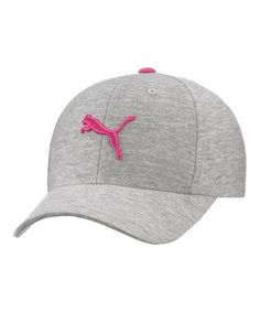 PUMA Gray   Pink Flashdance Baseball Cap - Women b3c012fd847