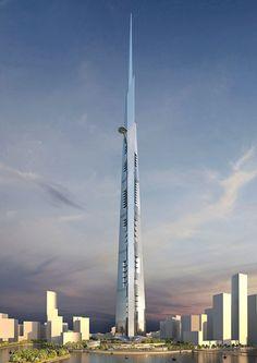 """Saudi Arabia  """"Kingdom Tower"""" / Adrian Smith"""