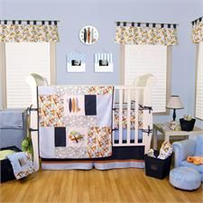 Surf's Up Baby Crib Bedding Set by Trend Lab