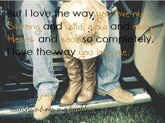 I Love The Way You Love Me - John Michael Montgomery
