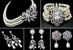 1920's wedding jewelry...I think I'm in love