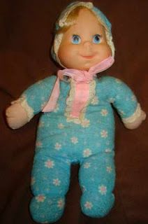 Childhood Memory Keeper: Retro Pop Culture from the 1960s, 1970s and 1980s: toys In 1977 Baby Beans--there was a string to pull and the doll would say things