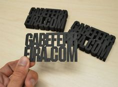 business card / lasercut