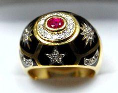 Diamond Rings : BULGARI
