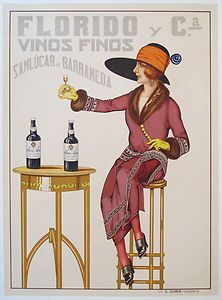 Spanish Wine Poster from the Spanish Posters, Spanish Art, Spanish Wine, Paul Poiret, Vintage Wine, Vintage Ads, Vintage Stuff, Funny Vintage, Vintage Room