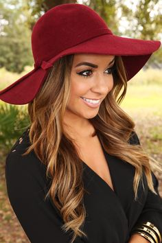 The Final Topping Hat: Burgundy