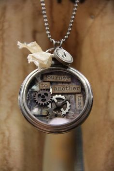 Love anything that Tim Holtz does!!  He is a master at making mixed media art and jewelry!!  Love this guy!!