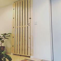 猫と暮らす/扉/DIY/ディアウォール/脱走防止扉/玄関/入り口…などのインテリア実例 - 2016-07-05 16:38:21…
