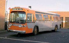 1965 General Motors TDH 4519 Bergen Ave Bus, Jersey City, New Jersey
