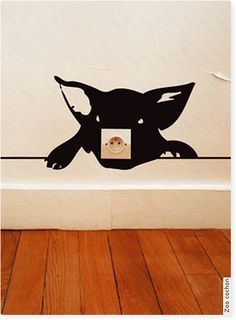 Ok this is just ridiculously adorable. I have to adapt this for my daughter's room in the future.