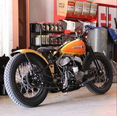 1942 Harley Davidson WLA - Gas Monkey Garage