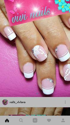 Wedding Nails, Nails Inspiration, Cute Nails, Nail Art Designs, Finger, Hair Beauty, Pretty Nails, Gorgeous Nails, Modern Nails