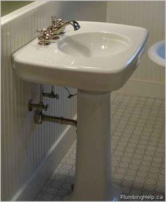 installing pedestal sink plumbing help traditional shutoffs and other exposed elements simple
