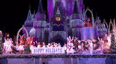 Video: Celebrate the Season Show at Mickey's Very Merry Christmas Party, Walt Disney World #Disney #Christmas #Celebrate