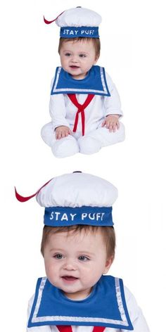 LICNESED STAY PUFT GHOSTBUSTERS INFANT BABY GIRLS BOYS HALLOWEEN COSTUME