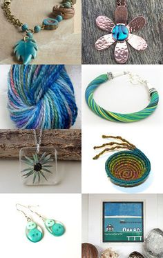A little bit blue by Alice on Etsy--Pinned with TreasuryPin.com