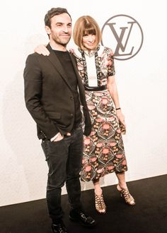 Michael Burke and Delphine Arnault Host a Dinner Celebrating Louis Vuitton's Monogram – Vogue