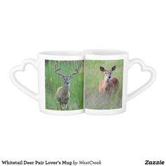 Whitetail Deer Pair Lover's Mug