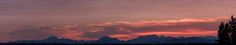 The Olympic Mountain Range in a Smokey Sunset [OC] [134862624] via /r/SkyPorn http://ift.tt/1J0Pxrd