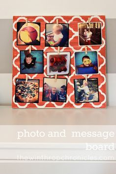 photo message board