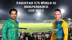 Cricket Betting tips- Pakistan vs World XI – ODI About the Match As we all know That last time Pakistan played here, they were found struggling to qualify for ICC Champions Trophy. Pakistan takes on World XI in first of the three T20Is in the independence cup Match Predictions By Cricket betting tips Wining Team Pakistan Source:- http://www.freecricketbettingtips.co.in/
