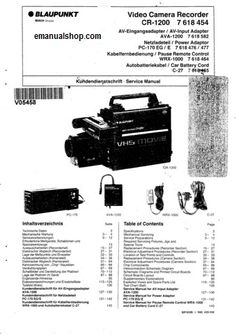 SONY Personal Computer Vaio PCVRX100M Service Manual