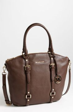 MICHAEL Michael Kors 'Bedford - Large' Slouchy Satchel available at #Nordstrom