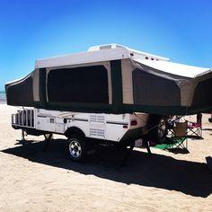 Tent trailer pop up camper starcraft off road