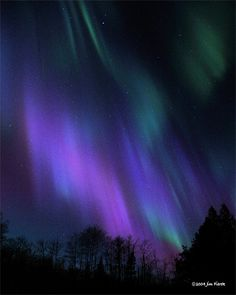 Northern Lights in Northern Minnesota by Jim Fierek, sweetwaterphotoonline.com