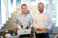 Buyfresh Gründer Daniel Kohler und Franco Jenal (v. Food Lab, Marmite, Shopping, Foods, Pictures