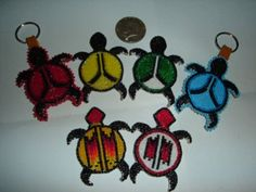 A.I.M. pins  Nakonaeaglethunder - Native American Beadwork for Sale's - Turtle Nation Collection